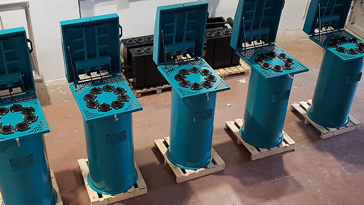Silo üstü jet filtre, Çimento, Alçı, Kül, Kalsit, Kireç, hammadde silo filtresi