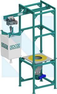 Bigbag - Big bag -Boşaltma Sistemi - istasyonu - ünitesi - discharge - Unloading - Systems - Kalsit - PVC - Çimento - Kireç - Alçı