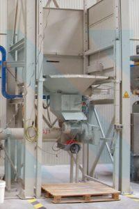 Big Bag - Bigbag - Boşalma - Sistemi - İstasyonu - Ünitesi - Unloading - Discharge - System - Çimento - PVC - Kalsit - Nişasta - Gıda - Helezon - Pnömatik Taşıma