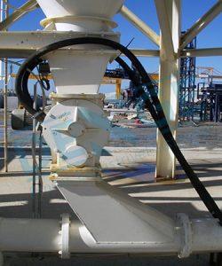 Rotary Valf, Hücre Tekeri, Air lock, HAva Kilidi, Eklüs, pnömatik - havalı taşıma sistemi, çimento taşıma sistemi,