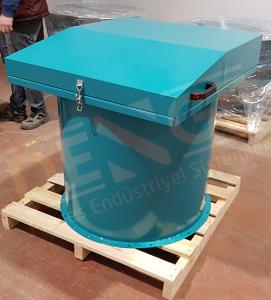 Çimento silo filtresi, silo üzeri jet filtre, kalsit, kireç , alçı, uçucu kül, silis, paslanmaz çelik silo filtresi